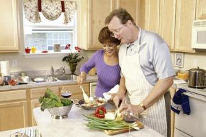Romance and Cooking Together